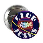 "Club Jesus 2.25"" Button (10 pack)"