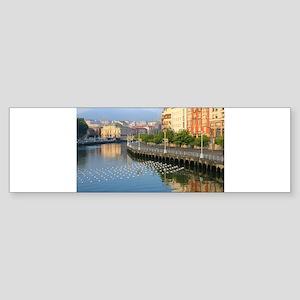 Bilbao, Basque Spain Bumper Sticker