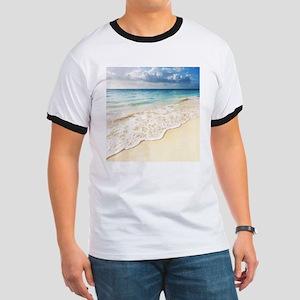 Beautiful Beach Ringer T