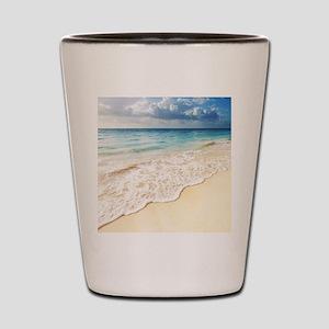 Beautiful Beach Shot Glass