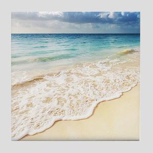 Beautiful Beach Tile Coaster