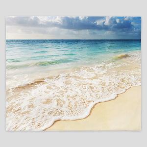 Beautiful Beach King Duvet
