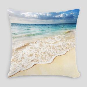 Beautiful Beach Everyday Pillow