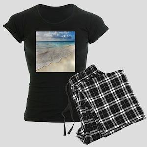 Beautiful Beach Women's Dark Pajamas