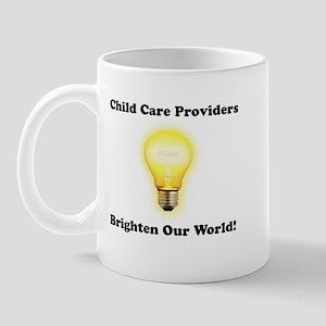 Childcare Providers brighten  Mug