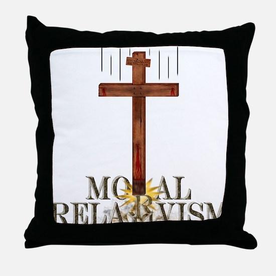 Moral Relativism Throw Pillow