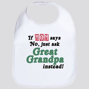 Just Ask Great Grandpa! Bib
