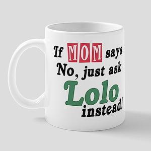 Just Ask Lolo! Mug