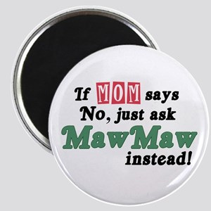 Just Ask MawMaw! Magnet