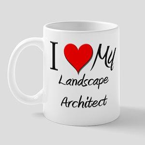 I Heart My Landscape Architect Mug