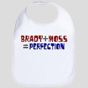 Brady to Moss Perfection Bib