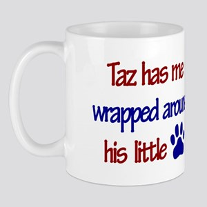 Taz Has Me Wrapped Around His Mug