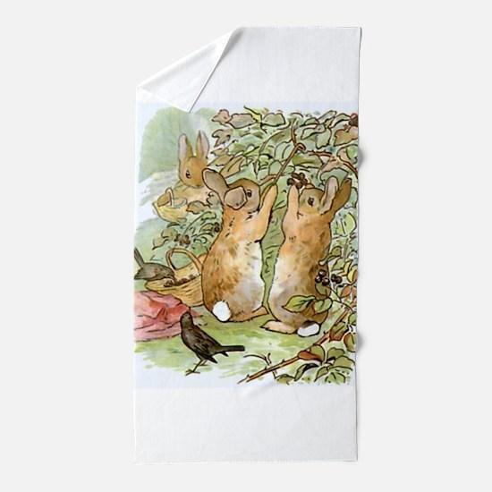 Beatrix Potter - Peter Rabbit : Rabbit Beach Towel