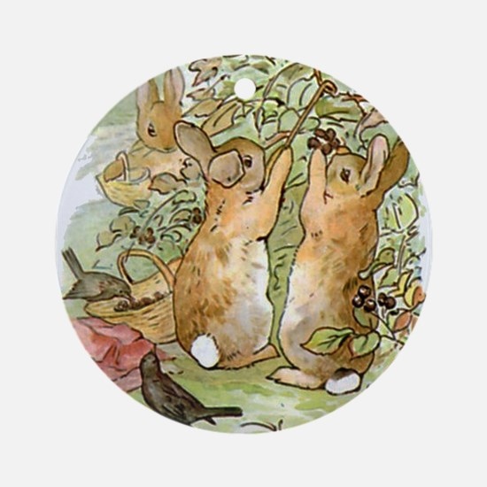 Beatrix Potter - Peter Rabbit : Rab Round Ornament