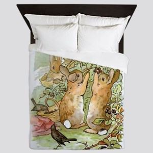 Beatrix Potter - Peter Rabbit : Rabbit Queen Duvet