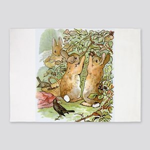 Beatrix Potter - Peter Rabbit : Rab 5'x7'Area Rug