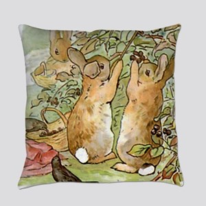 Beatrix Potter - Peter Rabbit : Ra Everyday Pillow