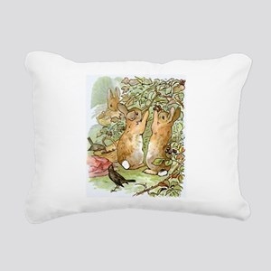 Beatrix Potter - Peter R Rectangular Canvas Pillow