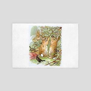 Beatrix Potter - Peter Rabbit : Rabbit 4' x 6' Rug