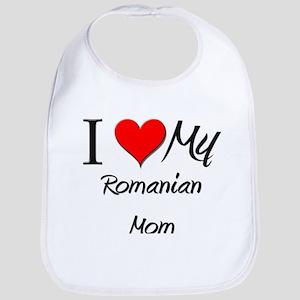 I Love My Qatari Mom Bib