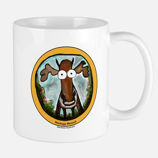 Cute Moose logo Mug