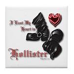 Biker Valentine's Day Tile Coaster