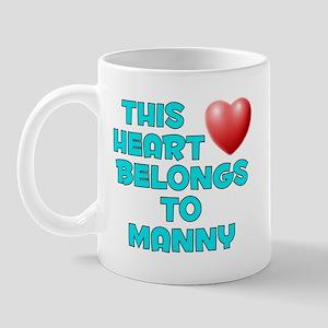 This Heart: Manny (E) Mug