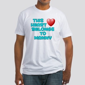 This Heart: Manny (E) Fitted T-Shirt