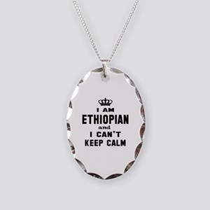 I am Ethiopian and I can't kee Necklace Oval Charm
