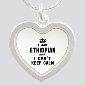 I am Ethiopian and I can't k Silver Heart Necklace