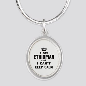 I am Ethiopian and I can't ke Silver Oval Necklace