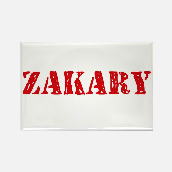 Zakary Rustic Stencil Design Magnets