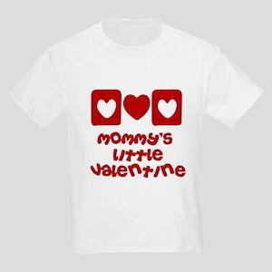 Mommy's little Valentine Kids Light T-Shirt