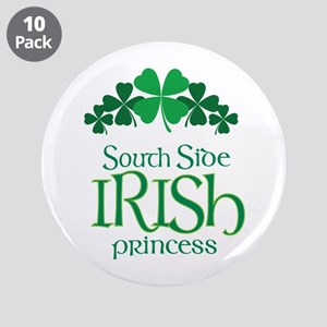 "Irish Princess 3.5"" Button (10 pack)"