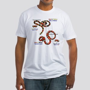 Coral Snake/Milk Snake Fitted T-Shirt