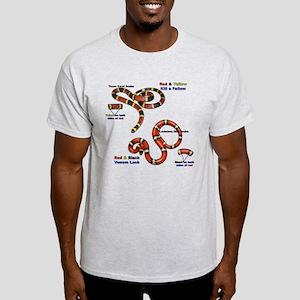 Coral Snake/Milk Snake Light T-Shirt