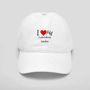 I Heart My Laboratory Worker Cap
