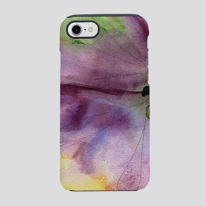 PURPLE FLOWER IN WATER COLOR iPhone 8/7 Tough Case