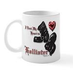 Biker Valentine 11 oz Ceramic Mug