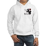 Biker Valentine Hooded Sweatshirt