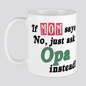 Just Ask Opa! Mug
