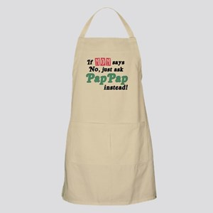 Just Ask PapPap! BBQ Apron