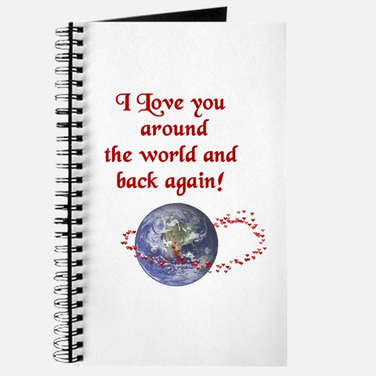 Love You Around the World and Back Journal