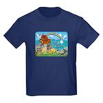 Noah's Ark Animal Kids Dark T-Shirt