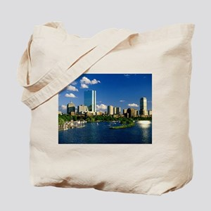 Boston Back Bay Area Tote Bag