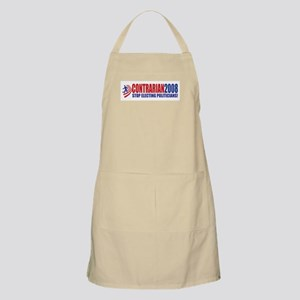 Contrarian Party - Stop Elect BBQ Apron