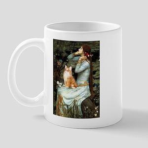 Ophelia / Orange Tabby Mug