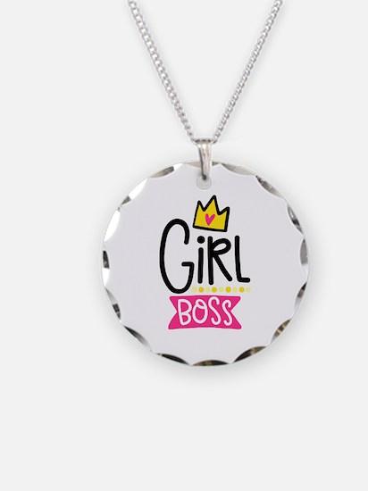 Girl Boss Necklace