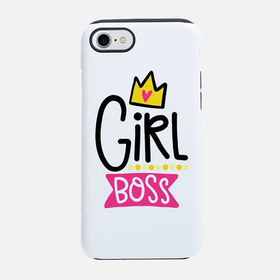 Girl Boss iPhone 8/7 Tough Case