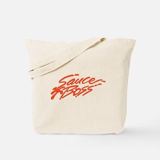 Sauce Boss Logo Tote Bag